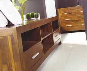Warfold TV Cabinet and Drawer Set