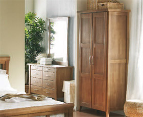 Warfold Wardrobe and Dressing Table